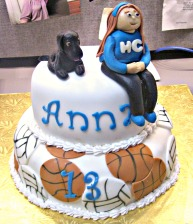 Anna's Cake via Adventures of a Cake Diva