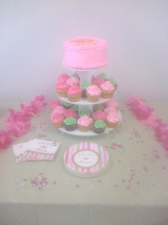 Baby Shower Cakes Baby Shower Cupcake And Cake Stand