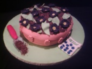 Flower Pot Cake for Mother's Day
