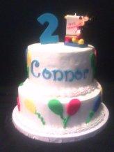 Mickey Balloon Cake