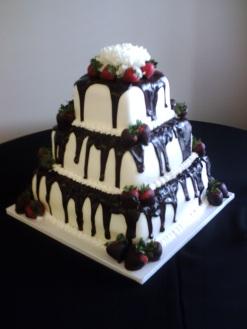 Tuxedo Wedding Cake