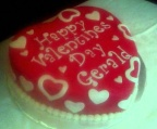 Valentine's Day Cake-Picnic