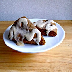 Gingerbread Scones via Adventures of a Cake Diva