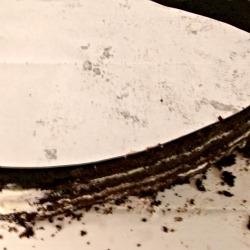 Using a template to carve cakes via Adventures of a Cake Diva